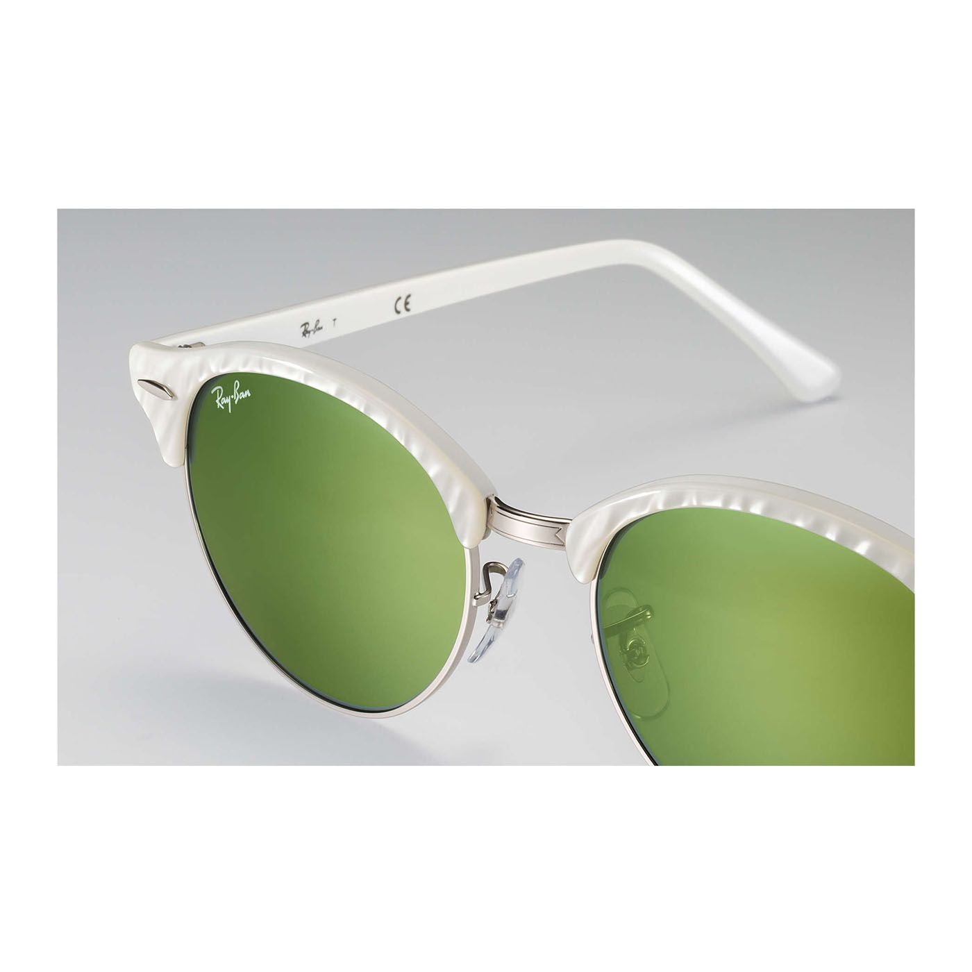 Ray-Ban Clubround color blanco